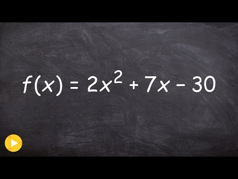 How to factor an equation to find the x intercepts of the given equation, then solve