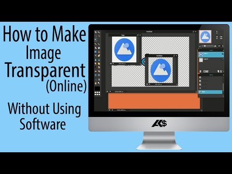 How to make any Image Transparent Online ? Without software