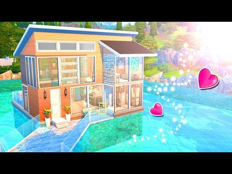 The Sims 4 || Speed Build || Love Birds Lake House
