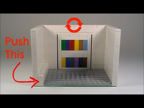 Tutorial- LEGO Rotating Bookshelf That Leads into a Secret Room