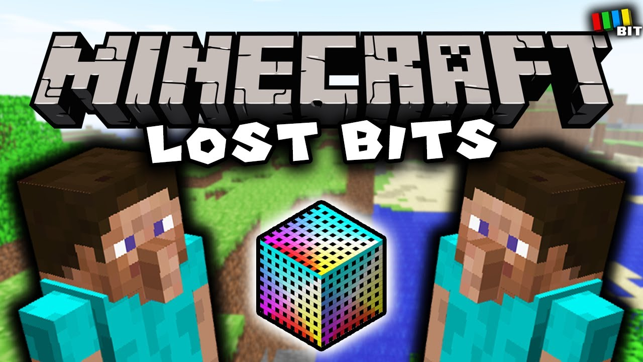Minecraft LOST BITS | Unused Content and Debug Features [TetraBitGaming]