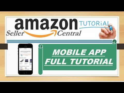 Amazon Seller Central Mobile App Full Training Explained in Hindi