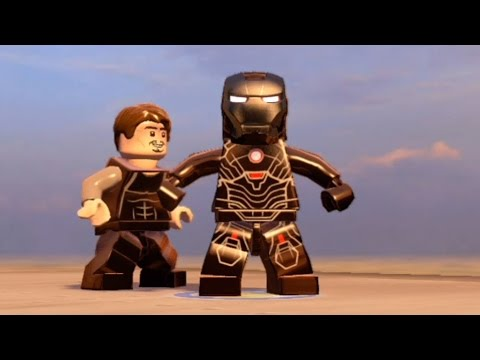 LEGO Marvel's Avengers - All Iron Man Characters | Tony Stark Transformations | Free Roam [HD 1080p]