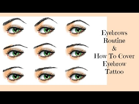 Eyebrows Routine / How To Cover Eyebrow Tattoo
