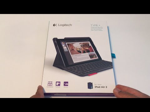 Logitech Type + Protective Case with Bluetooth Keyboard for iPad Air 2