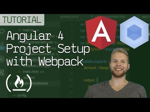 Angular 4 Project Setup with Webpack