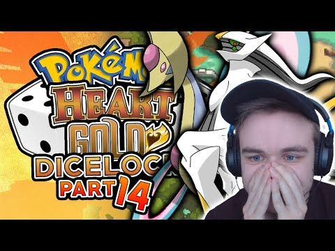 ARCEUS AND CRESSELIA ENCOUNTERS! DO WE CATCH THEM? Pokemon Heart Gold Randomized Dicelocke Part 14