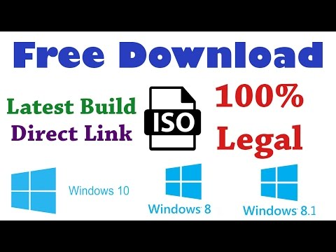 How To Download Latest Windows 10 , 8, 8.1 ISO File For Free From Microsoft [Hindi]
