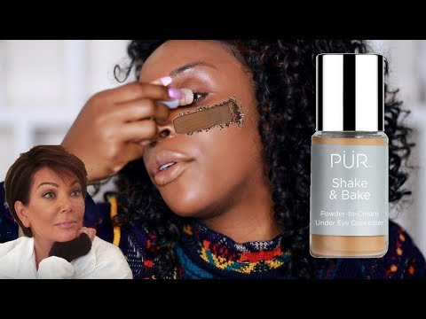 A POWDER CONCEALER?! Why Doh!???   Jackie Aina