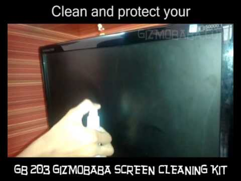 GB203-Gizmobaba Computer TV Mobile Screen Cleaning Kit