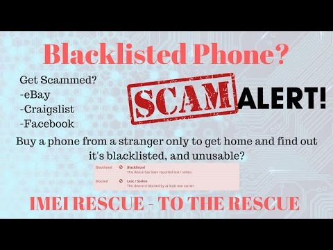 How To Permanently Fix Blacklisted Bad IMEI Sprint T-mobile Verizon AT&T Galaxy S8 S8+ G955U G950U