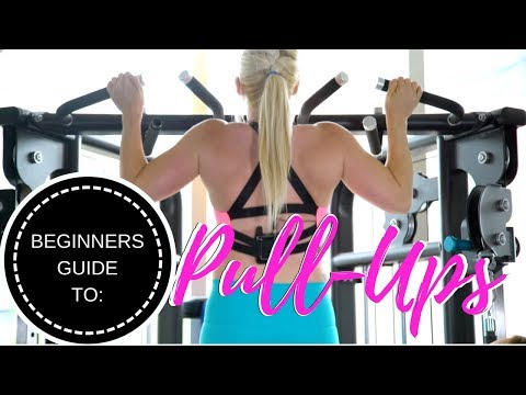 Beginners Guide to PULL UPS!! (step by step - learn fast!)