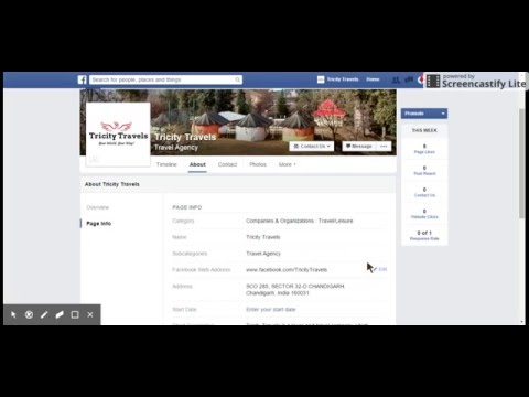 How to Change Facebook Page Name and URL | 2016