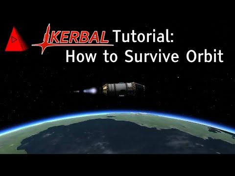 How to Orbit Kerbin and Survive Reentry - Kerbal Space Program 1.0 Tutorial - Beginner Guide