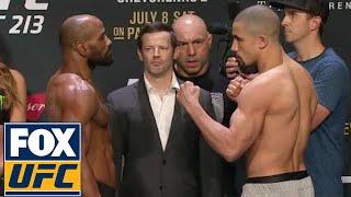 Yoel Romero vs. Robert Whittaker | Weigh-In | UFC 213