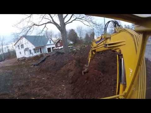locating a underground sewer pipe