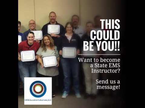 Become an EMS Instructor!