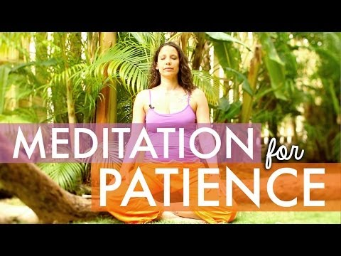 Meditation for Patience, Anxiety, Stress - How to Meditate for Beginners - BEXLIFE