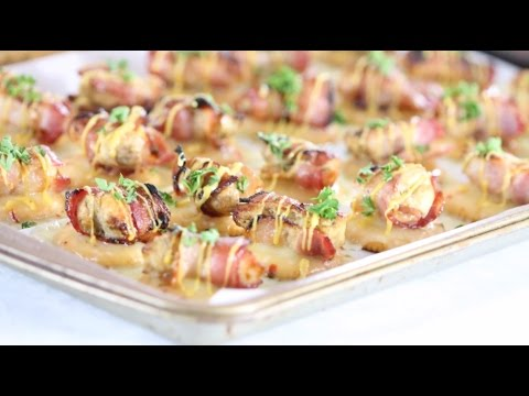 Bacon-Wrapped Chicken Bites Ritz Cracker Recipe