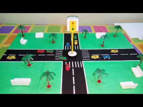 Model of traffic signal
