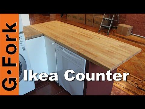 DIY Butcher Block Kitchen Island - GardenFork