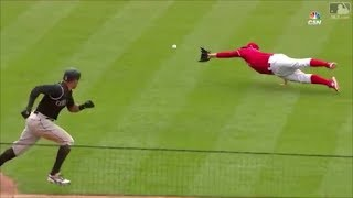 MLB Diving Catches by Pitchers