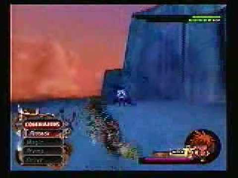 Kingdom Hearts 2, Sephiroth Battle (L48, proud mode)