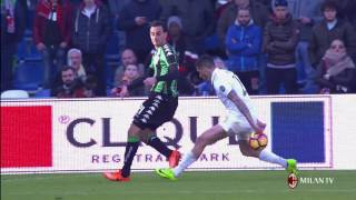 Highlights US Sassuolo-AC Milan 26th February 2017 Serie A