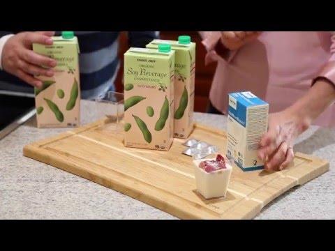 Fantastic, Simple Soy Yogurt with Trader Joe's Soy Milk  // Quick, Healthy & Yummy