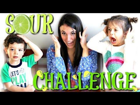 SOUR CHALLENGE with Rosalyn and Riley