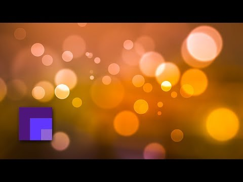 Photoshop CS6 - Create a Custom Glowing Light Bokeh Brush and Wallpaper
