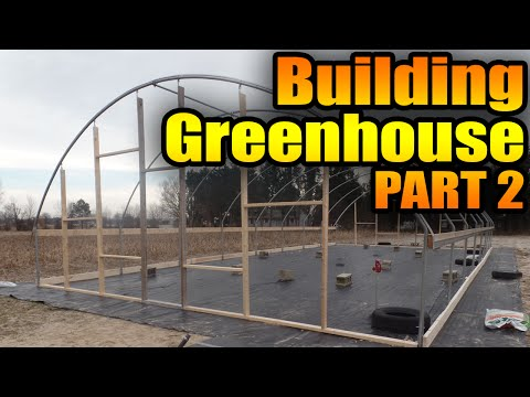 How to Build a Greenhouse Part 2