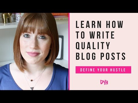 9 Steps for Writing Quality Blog Posts