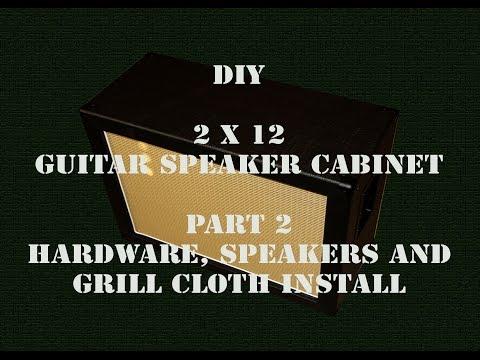 DIY 2X12 - Guitar Speaker Cabinet - Part 2 - HD