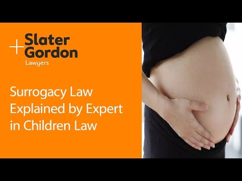 Surrogacy Law Explained by Expert in Children Law
