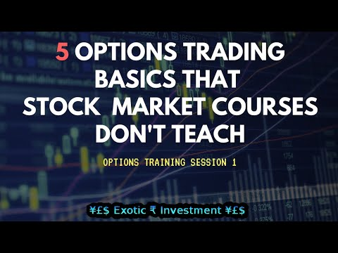 Nifty Options Training: How to Start Options Trading in India not taught in Stock Market Courses?