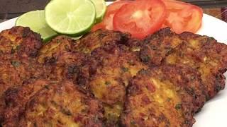 كباب دجاج قلي سهل وسريع , اكلات عراقية ام زين  IRAQI FOOD OM ZEIN