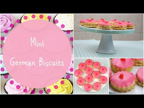 Mini Empire (German) Biscuits ♥ Bitesize Bakes
