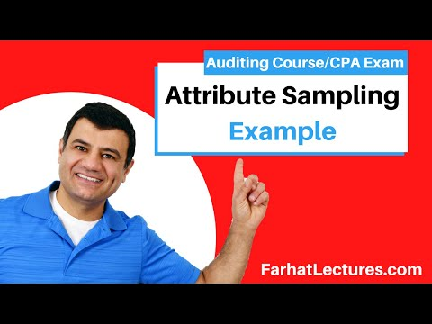 Example: Attribute Sampling | Auditing and Attestation | CPA Exam