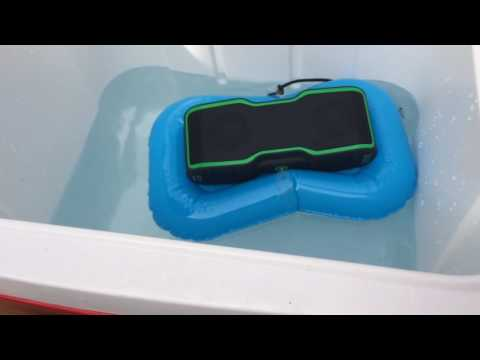 Waterproof Bluetooth Speaker that's durable and sounds great!