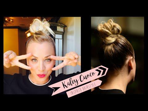Kaley Cuoco Inspired Bun Hairstyle |xaritenaTv