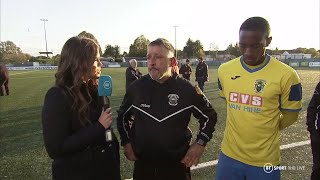 Haringey's manager and captain speak after abandoning FA Cup game amid reports of racial abuse