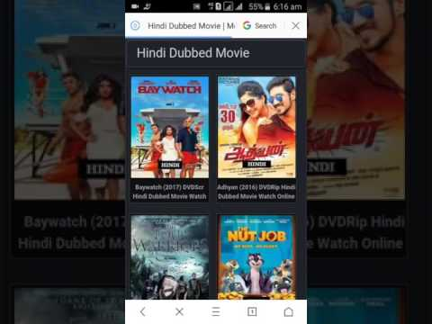 how to download new release movies in hindi dubbed in HD (Quality)