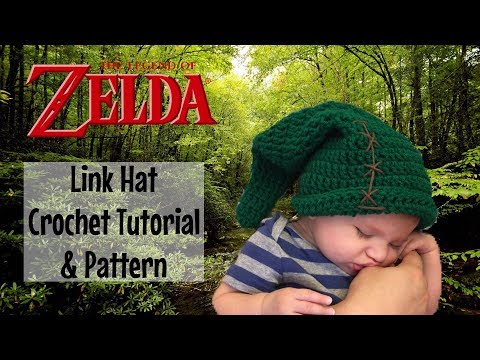 Link Hat / The Legend of Zelda - Crochet Pattern & Tutorial
