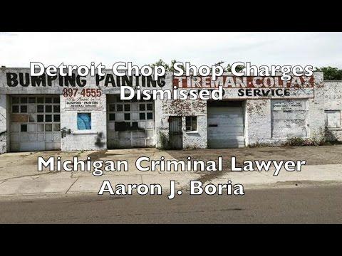 Detroit Criminal Lawyer - Chop Shop - Receiving and Concealing