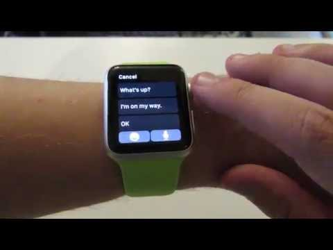 Apple Watch: Send Your Dictated Text Message Quicker