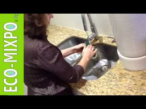 How to clean ceramic water filter in pottery purifier with