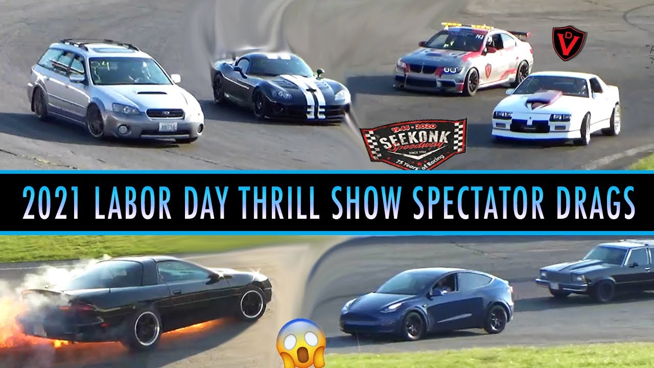 2021 Labor Day Thrill Show Spectator Drags