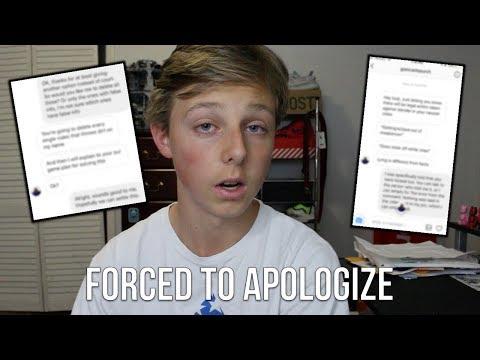 Threatened To Make An Apology To Blazendary...
