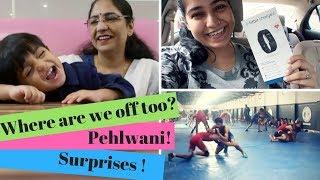 Toddler Travel Snack Haul , Surprising my Husband and kushti !     #RGVVlogs